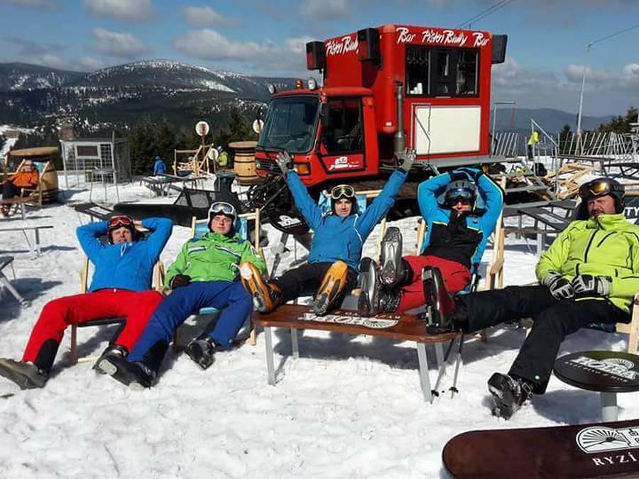 impreza plenerowa organizacja śnieg zimowa